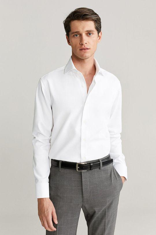 Mango Man - Košile Angus bílá