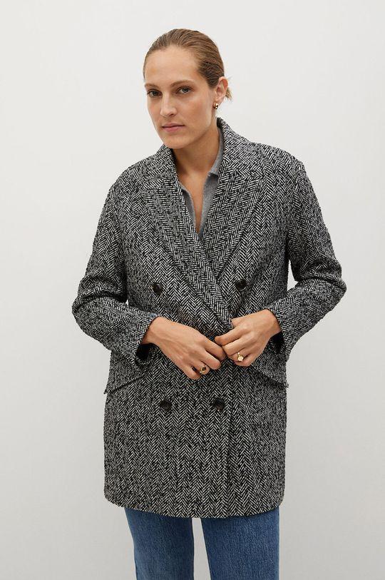 čierna Mango - Kabát Darwin Dámsky