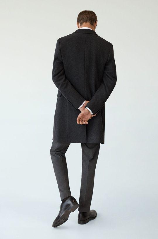 Mango Man - Kabát Arizona  Podšívka: 53% Bavlna, 47% Polyester Hlavní materiál: 50% Polyester, 50% Vlna Podšívka rukávů: 100% Polyester
