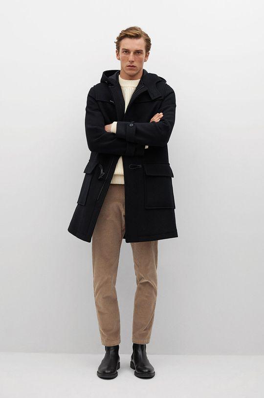 Mango Man - Kabát FARO černá