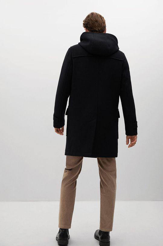 Mango Man - Kabát FARO  Podšívka: 52% Bavlna, 48% Polyester Hlavní materiál: 4% Akryl, 3% Polyamid, 41% Polyester, 52% Vlna Podšívka kapsy: 20% Bavlna, 80% Polyester Podšívka rukávů: 100% Polyester