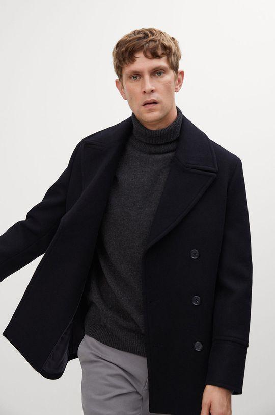 černá Mango Man - Kabát TINOF