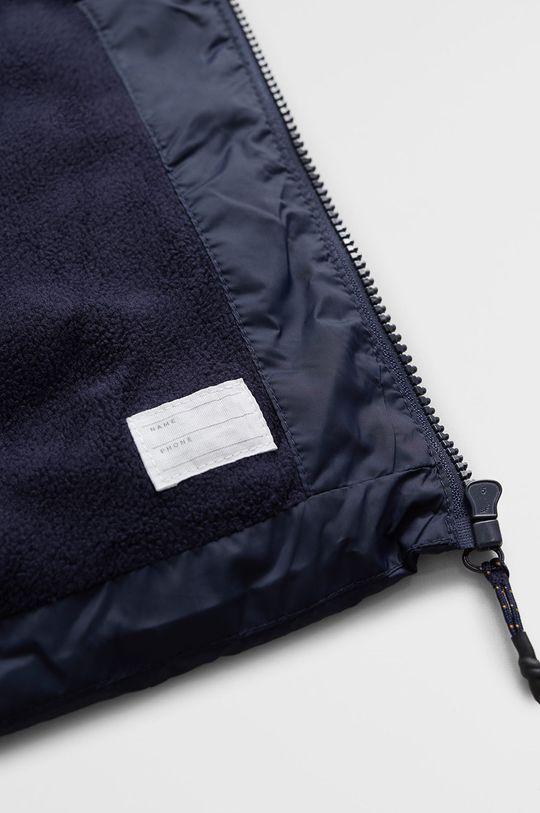námořnická modř Mango Kids - Dětská bunda America7 110-164 cm