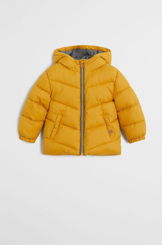 žltá Mango Kids - Detská bunda Aldo7 80-104 cm Chlapčenský