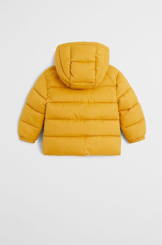 Mango Kids - Detská bunda Aldo7 80-104 cm žltá
