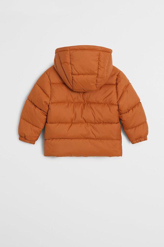 Mango Kids - Kurtka dziecięca Aldo7 80-104 cm pomarańczowy