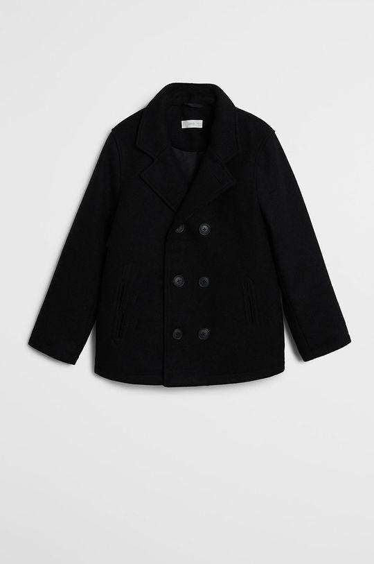 čierna Mango Kids - Detská bunda Adam 128-164 cm Chlapčenský