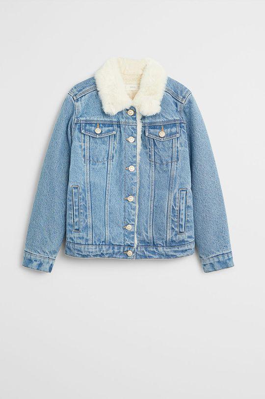 albastru Mango Kids - Geaca jeans Lisa 116-164 cm De fete