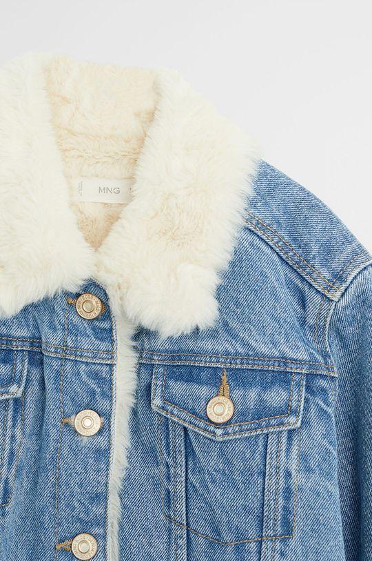 Mango Kids - Geaca jeans Lisa 116-164 cm  Materialul de baza: 100% Bumbac Alte materiale: 100% Poliester