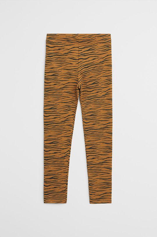 žltá Mango Kids - Detské legíny Eliop 110-164 cm Dievčenský