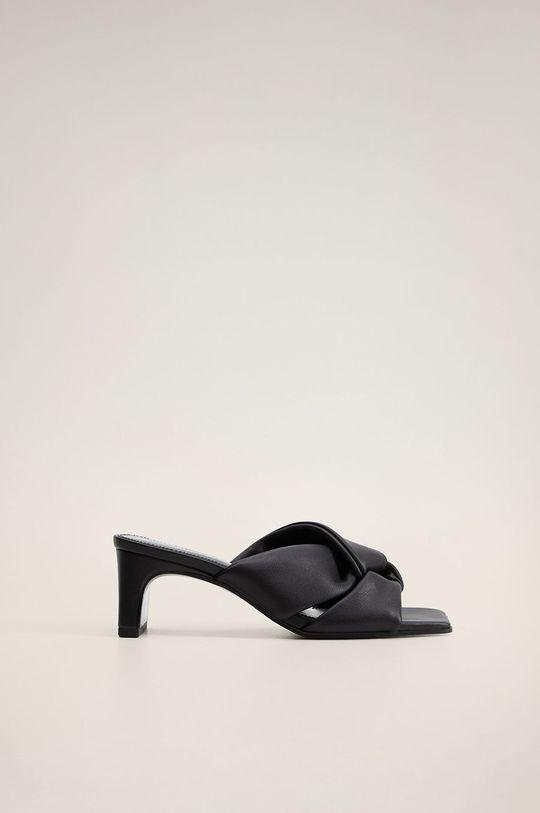 negru Mango - Papuci Romeo De femei