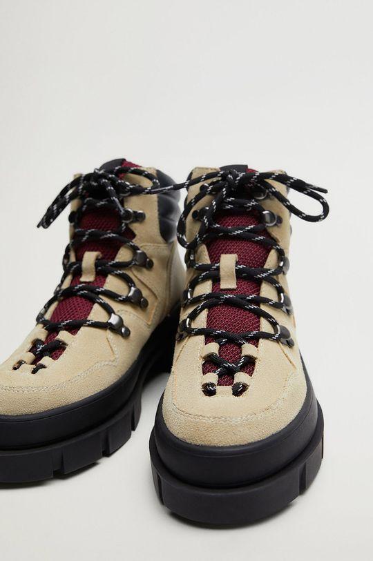 Mango - Pantofi Hill  Gamba: Material sintetic, Piele intoarsa Interiorul: Material textil Talpa: Material sintetic