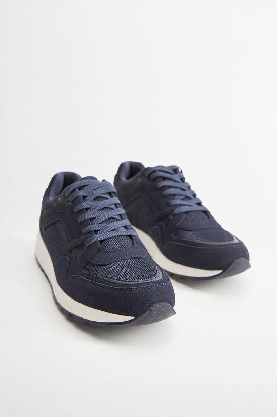 Mango Man - Topánky Runsoft modrá