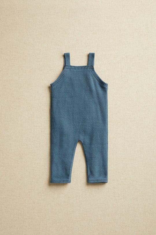 Mango Kids - Costum bebe Lucky 62-74 cm albastru