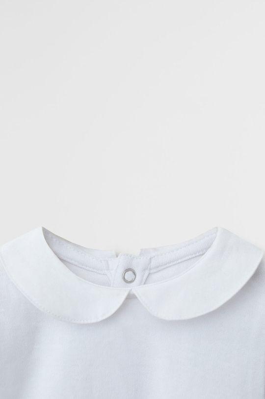 Mango Kids - Боді для немовлят Batista 62-80 cm білий
