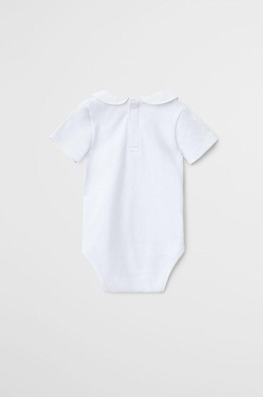 білий Mango Kids - Боді для немовлят Batista 62-80 cm