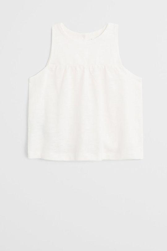 білий Mango Kids - Блузка для немовлят Leandra 62-80 cm Дитячий