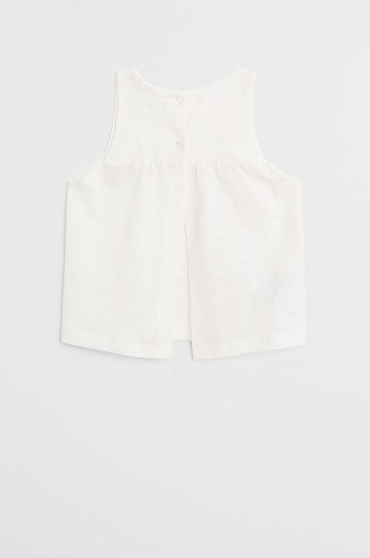 білий Mango Kids - Блузка для немовлят Leandra 62-80 cm