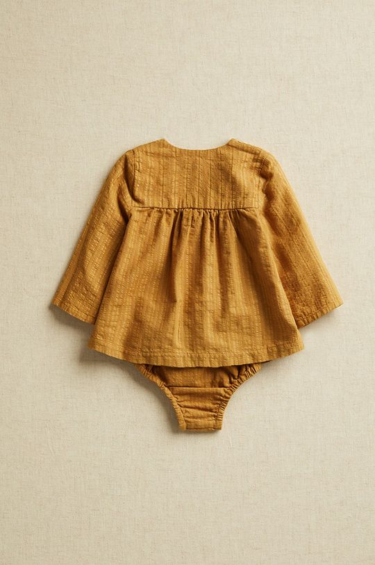 Mango Kids - Bluza bebe Brina 62-80 cm  99% Bumbac, 1% Poliester