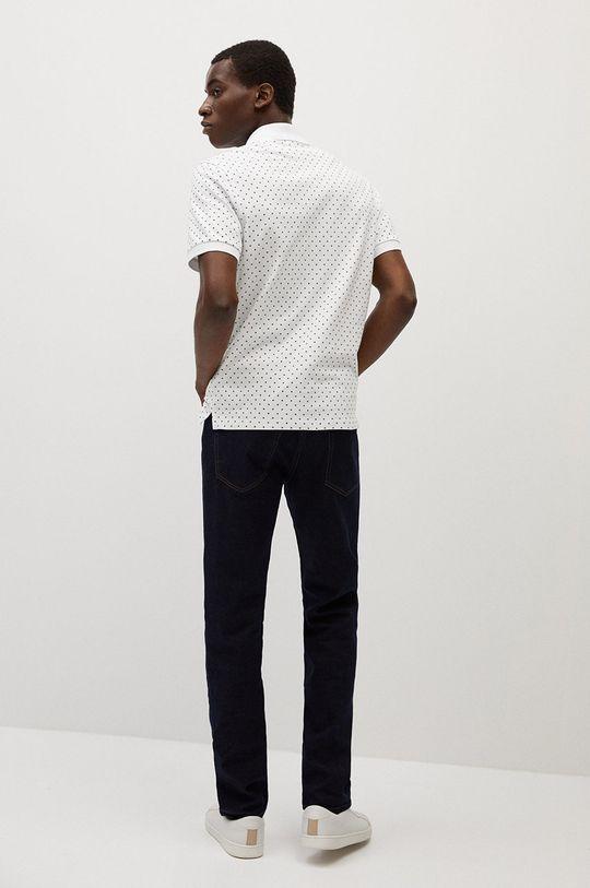 Mango Man - Polo tričko Dots  100% Bavlna