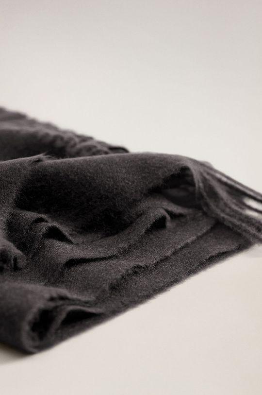 Mango - Šál Sweet čierna