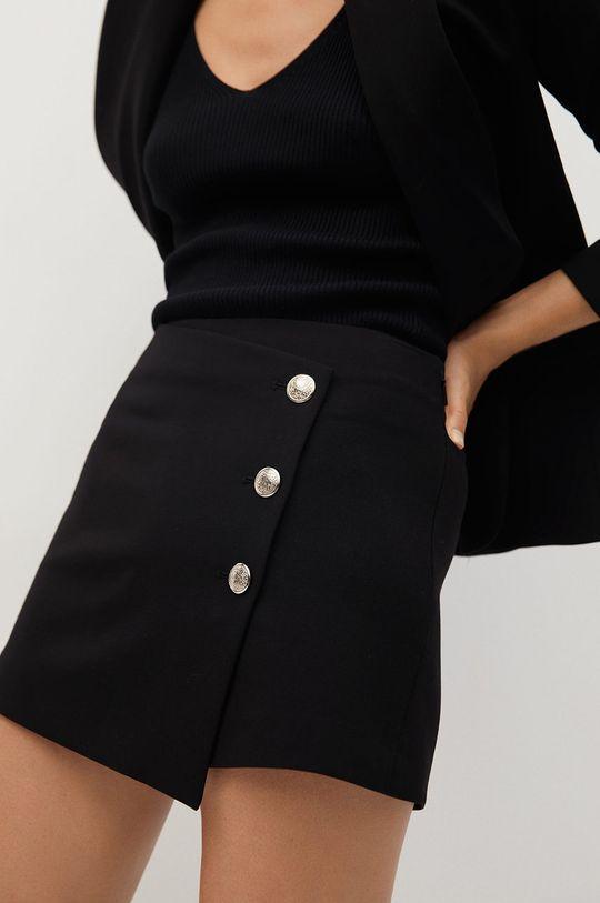 negru Mango - Pantaloni scurti Regent De femei