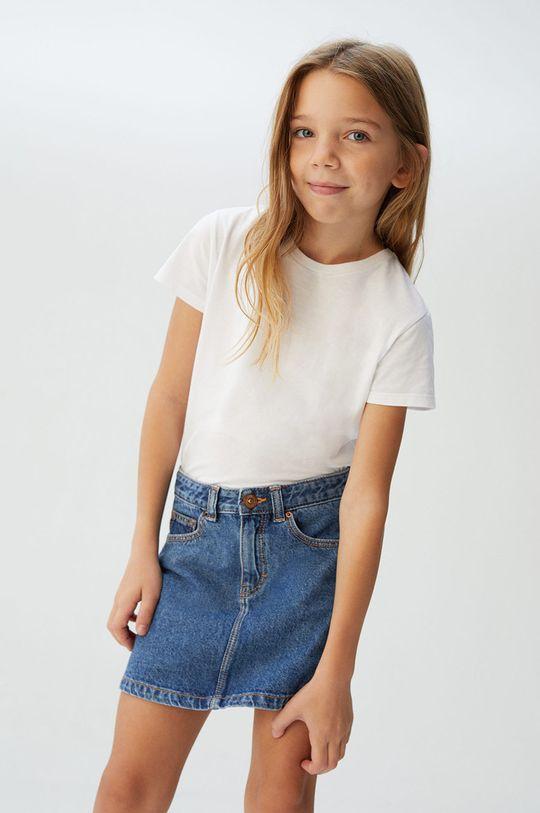 Mango Kids - Дитяча спідниця Sue 110-164 cm блакитний