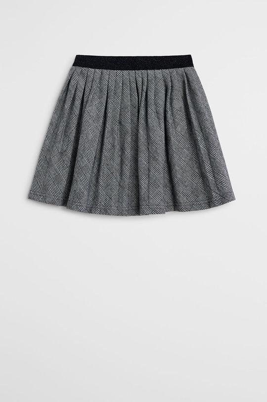 čierna Mango Kids - Dievčenská sukňa Plisada 116-164 cm Dievčenský