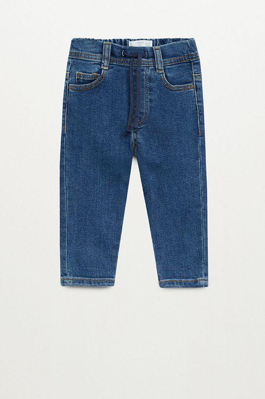 albastru Mango Kids - Jeans copii Cordj 80-104 cm De băieți