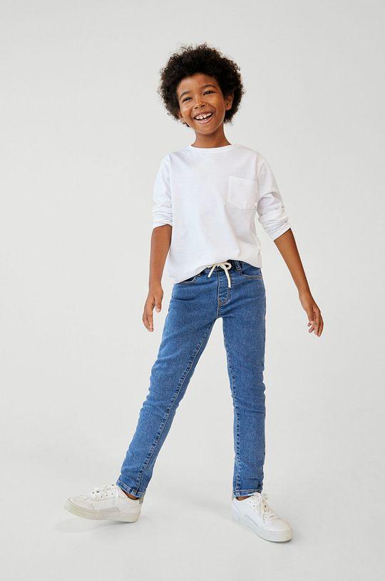albastru Mango Kids - Jeans copii COMFY De băieți