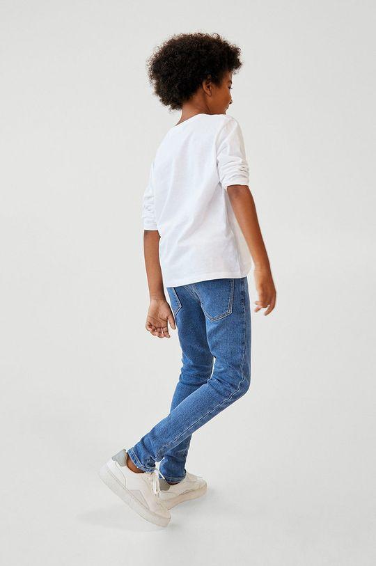 Mango Kids - Jeans copii COMFY albastru