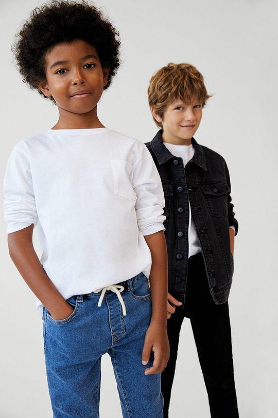 Mango Kids - Jeans copii COMFY  82% Bumbac, 1% Elastan, 17% Poliester
