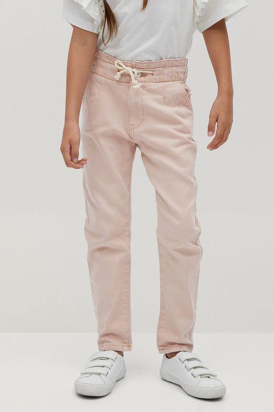 roz Mango Kids - Jeans copii Loose 110-122 cm De fete