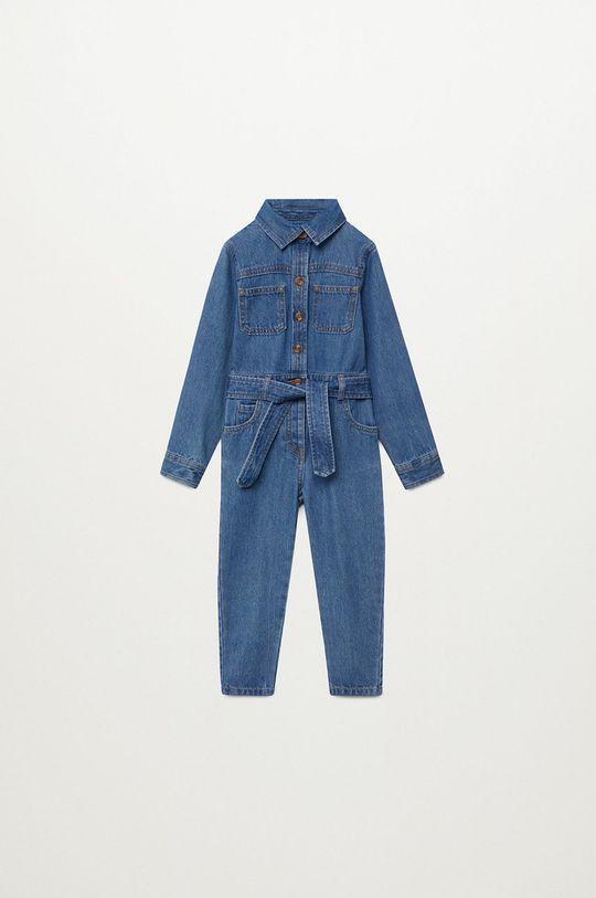 modrá Mango Kids - Detský overal ALICEB Dievčenský