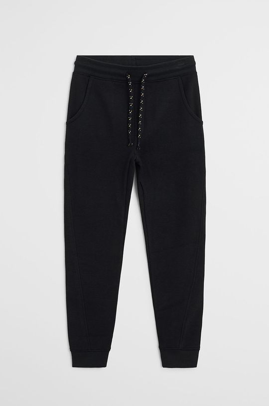 negru Mango Kids - Pantaloni copii Jumbo 110-164 cm De băieți