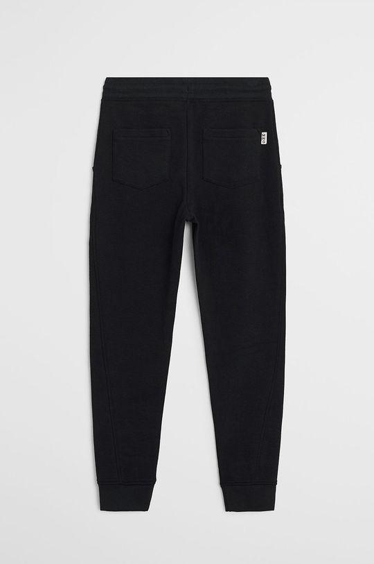 Mango Kids - Pantaloni copii Jumbo 110-164 cm negru