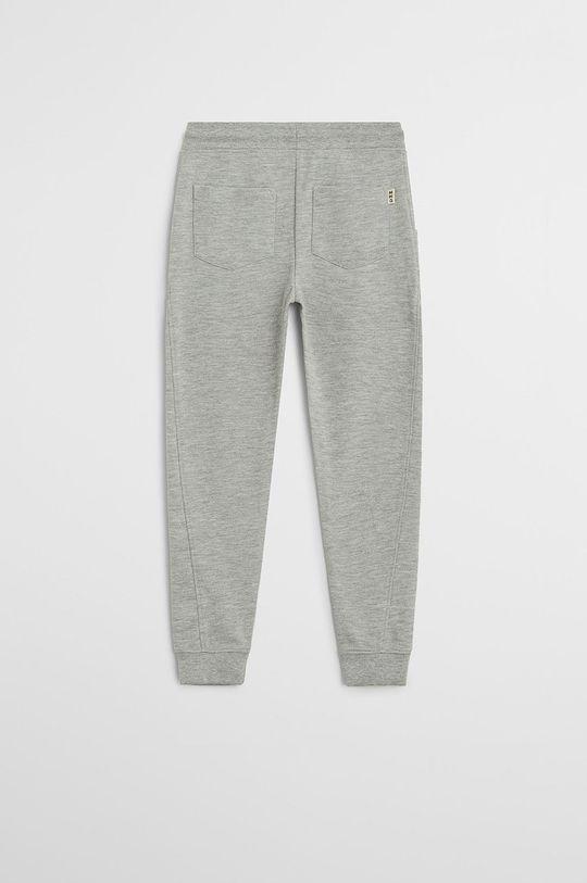 Mango Kids - Dětské kalhoty Jumbo 110-164 cm šedá