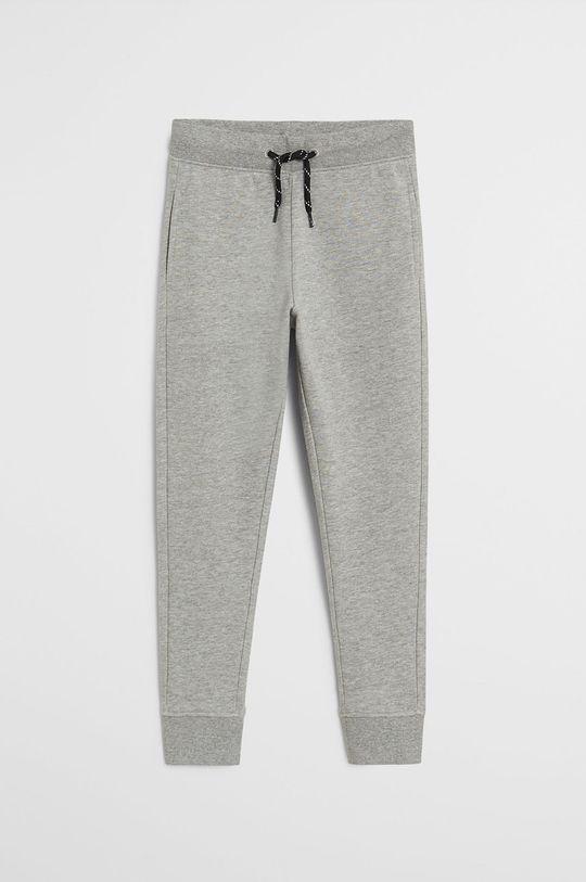 sivá Mango Kids - Detské nohavice Francia 110-164 cm Chlapčenský
