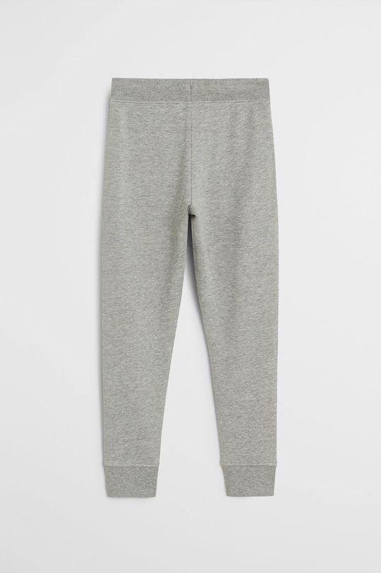 Mango Kids - Detské nohavice Francia 110-164 cm sivá