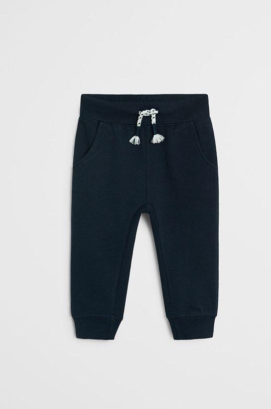tmavomodrá Mango Kids - Detské nohavice Mateo 80-104 cm Chlapčenský