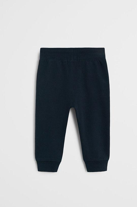 Mango Kids - Detské nohavice Mateo 80-104 cm tmavomodrá