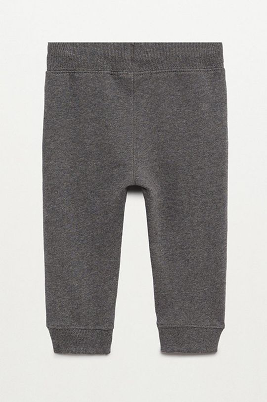 сірий Mango Kids - Дитячі штани Mateo 80-104 cm
