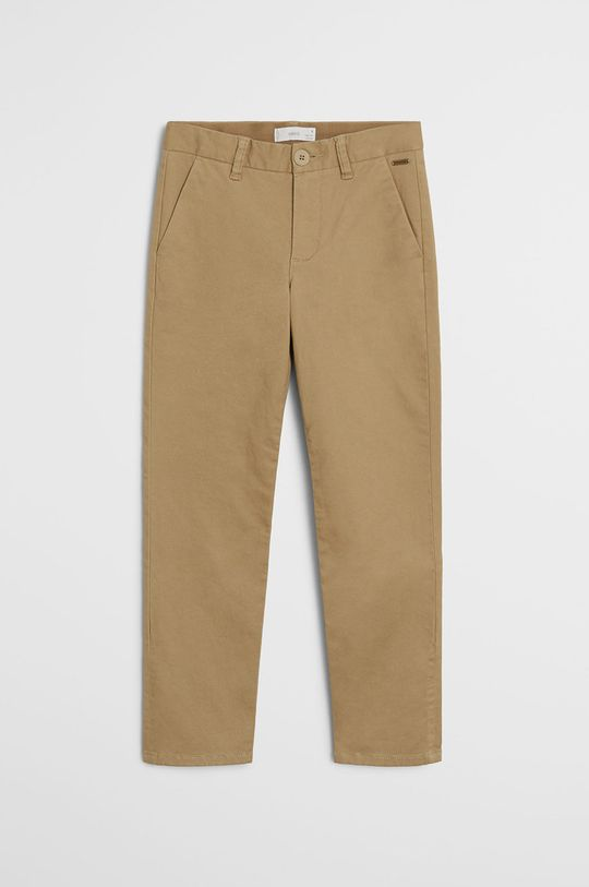 cielisty Mango Kids - Spodnie dziecięce Piccolo 110-164 cm Chłopięcy