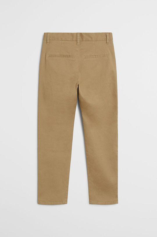 Mango Kids - Spodnie dziecięce Piccolo 110-164 cm cielisty