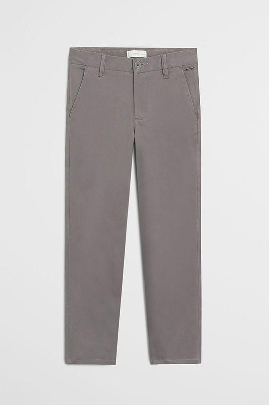 jasny szary Mango Kids - Spodnie dziecięce Piccolo 110-164 cm Chłopięcy