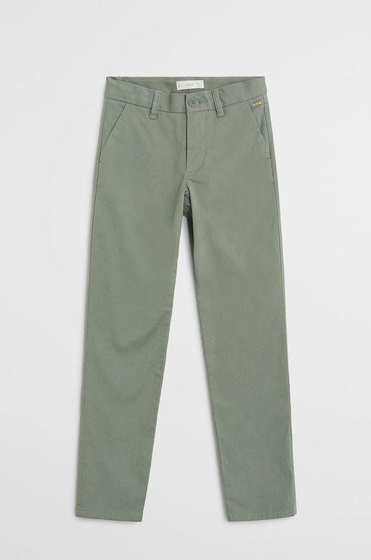 зелений Mango Kids - Дитячі штани Piccolo 110-164 cm Для хлопчиків