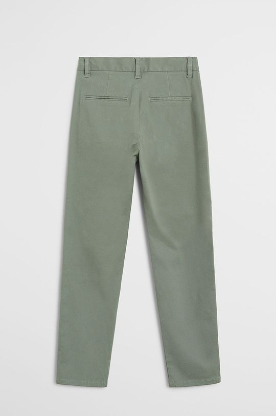 Mango Kids - Дитячі штани Piccolo 110-164 cm зелений