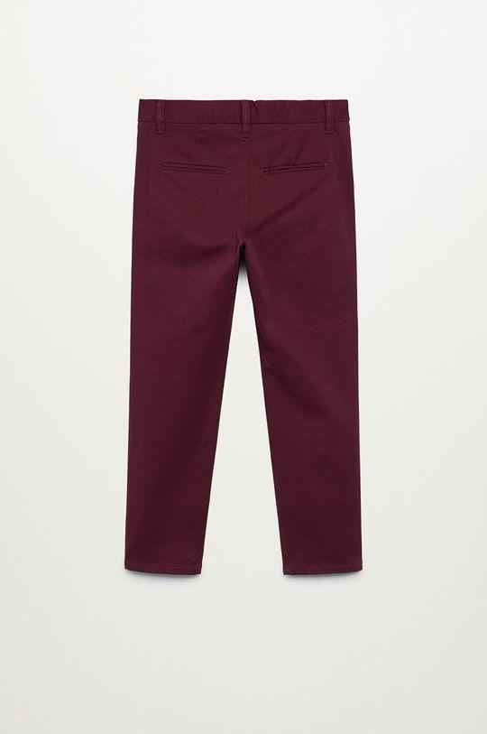 Mango Kids - Spodnie dziecięce Piccolo 110-164 cm kasztanowy