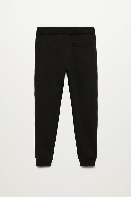 Mango Kids - Дитячі штани Hamilton 110-164 cm чорний