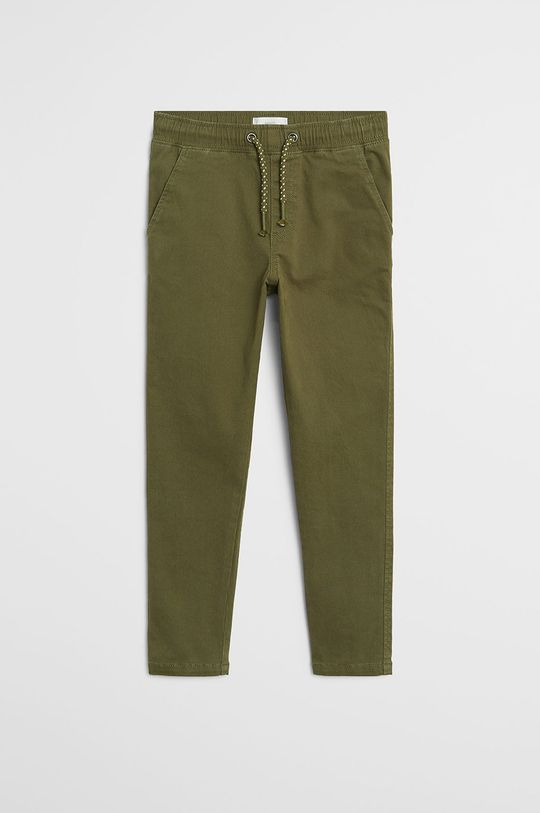 золотисто-коричневий Mango Kids - Дитячі штани Franky 110-164 cm
